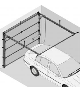 Novoferm la porte sectionnelle ISO 45 fabrication express