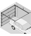 Novoferm Porte sectionnelle motorisée ISO45 (fabrication standard)