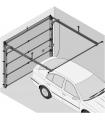 Novoferm kit serrure ISO 45 gauche vue intérieure (fab de novembre 2014 à porte actuelle)
