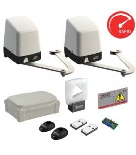 Kit Roger Technology Automatisme pour portail à battant bras articulés modèle KBH23/254/HS