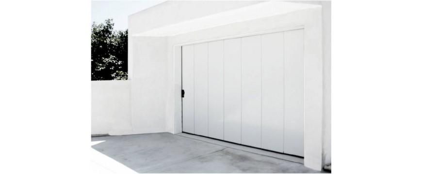 Portes de garage sectionnelles coulissantes iso 42 mm