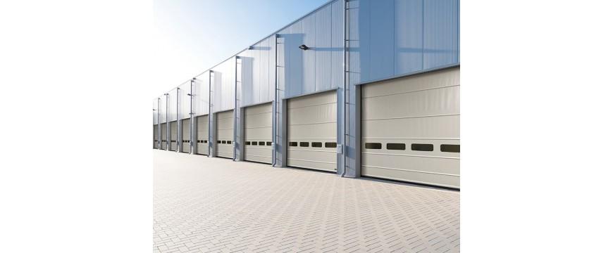 Porte de garage rapide commerces, atelier, entrepôt