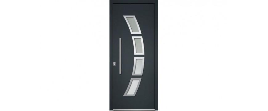 porte entree aluminium gamme contemporaine