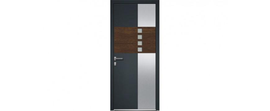Portes entrée aluminium gamme LINEA PORTUGAL