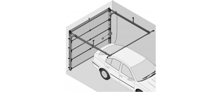 Novoferm porte garage sectionnelle MAEVA 2/Iso 20 (fab de juin 2020 à octobre 2004)