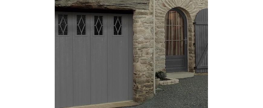 Portes de garage sectionnelles latérales GAMME NOVOSIDE
