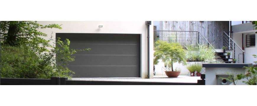 Tablier pour portes sectionnelles de l'habitat résidentiel
