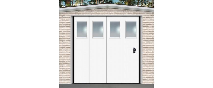 Portes de garage sectionnelles latérales coulissantes Marque DOORGATE Portugal